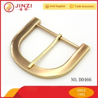 2015 New style antique brass plating D ring belt buckles for strap belt