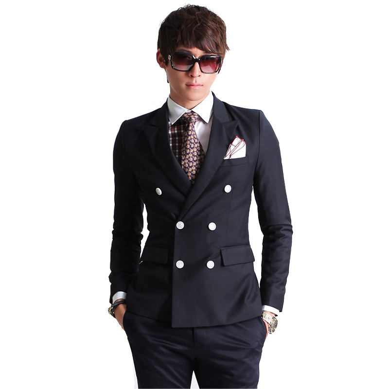 Wholesale slim casual suits men - Online Buy Best slim casual ...