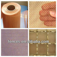 Red copper wire mesh/brass wire mesh/Phosphor bronze wire mesh ( 15 years factory, competitive price )