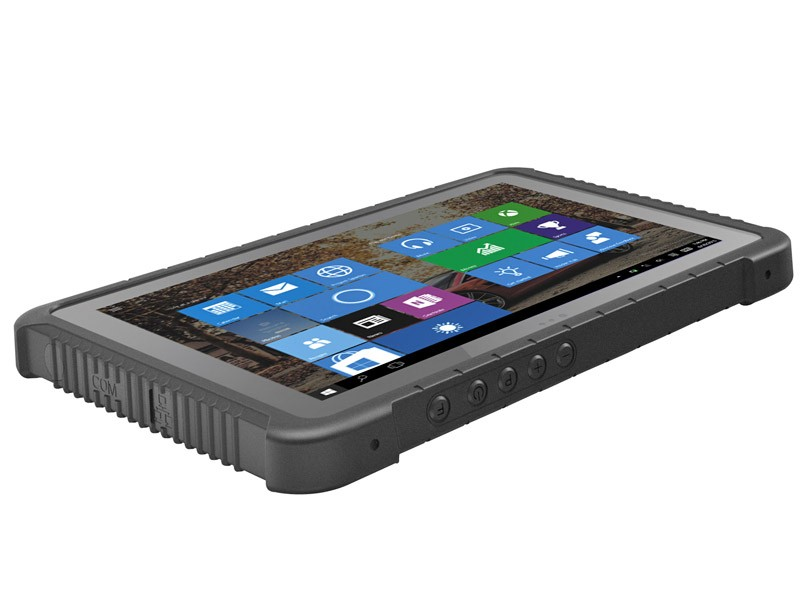 "Highton Ultra-rugged Tablets With RJ45 Ethernet Port And RS232 Port 10.1"" Win/ Android Dual OS Industrial Grade Tablet"
