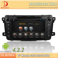 "8"" Mazda CX-9 2012 pure android 4.2.2 car DVD GPS with WIFI/3G"