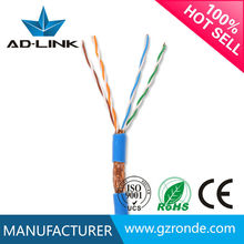 2015 oem fabrica al por mayor barato stp cat5 escudo internet cable cca/ccs/cu cable lan