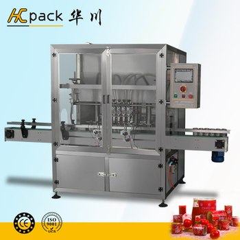 Full automatic tomato chili sauce filler