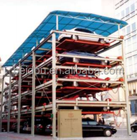 2-6 levels automated stacking car parking system with CE approved