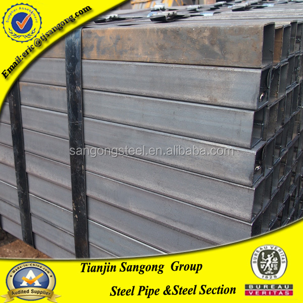 bare hollow section construction pipe,20*2.0mm steel tube