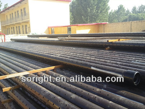 API oil well Perforated screen pipe of tubing and casing
