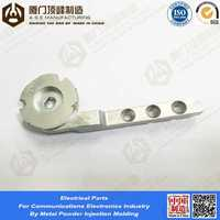 OEM Service MIM Parts by metal powder injection molding alloy steal magnet strong for mechine