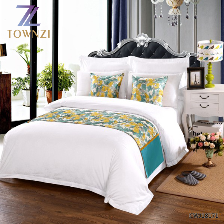 Wholesale High Quality Luxury Modern Style Hotel Supplies Bedding Sets Cotton Hotel Duvet Cover Bed <strong>Sheet</strong>