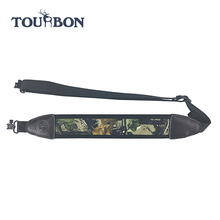 600D Neoprene and Genuine Leather Gun Sling Heavy Duty Nylon Lifting Slings for Gun/Lifting Belt Sling