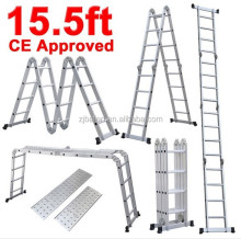 BF-354 15.5Ft multifunction platform step ladder