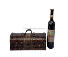2018 direct sell luxurious wooden wine box from direct manufacturer