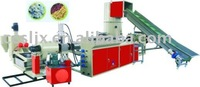 CE approved Waste plastic recycling granulating system
