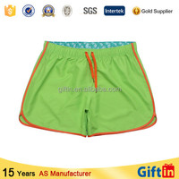 Colorful Fashion Custom Cheap Price Beach mens mini shorts