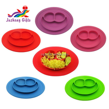 Non-toxic Silicone Baby Placemat Plate Silicone Placemat for <strong>Kids</strong>