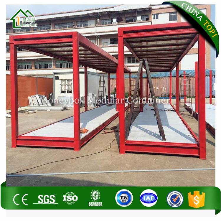 Customized Durable 40 Ft Container House Flat Pack/40ft flat pack home container