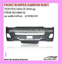 #000716 2010-2013 car bumper narrow body/low roof Toyota hiace front bumper for hiace van