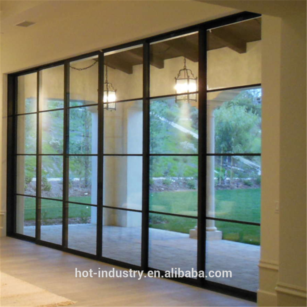 Attrayant Professional Manufacturer Iron Window Grill Design Steel Sliding Doors  Popular For Modern Simple House   Buy Wrought Iron Sliding Door  Design,Modern ...