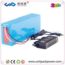 Shenzhen vehicle LiFePO4 battery manufacturer/electric bike battery with rear rack