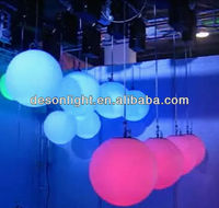 Can be controlled up and down Colorful led disco ball light LD-194