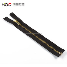 high quality double metal zipper for jeans