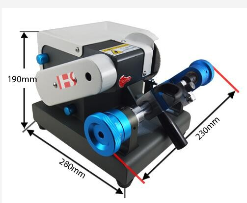 Top best China Jingji key cutting machine Tibbe type maual code 220V-240V 081065