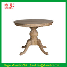 China supplier newest solid wood round table top, round table, round table new product