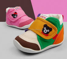 autumn Soft bottom high quality canvas newborn baby shoes
