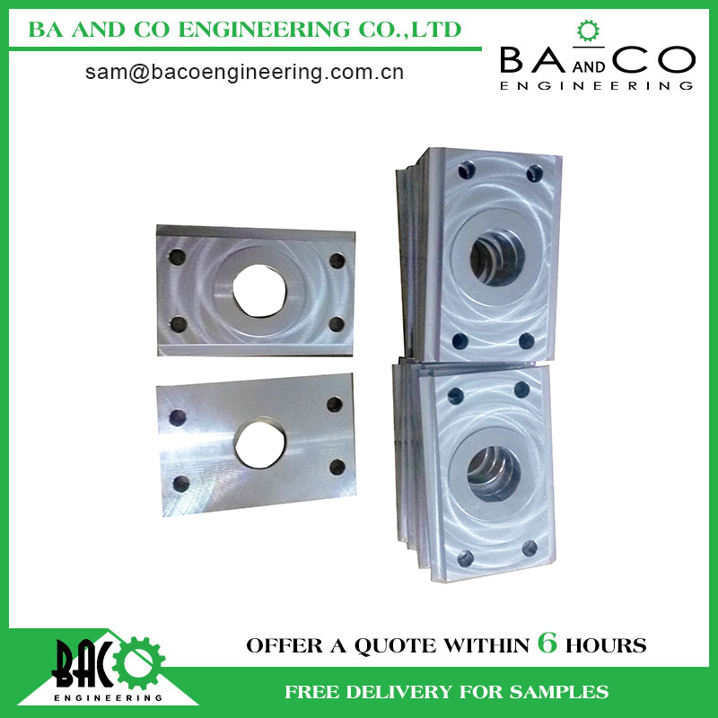 High grade quality mass production precision cnc turning&milling machined part