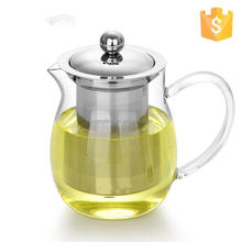 Hot selling tea pots with ss filter iron cast tea pot percolator coffee pot with low price