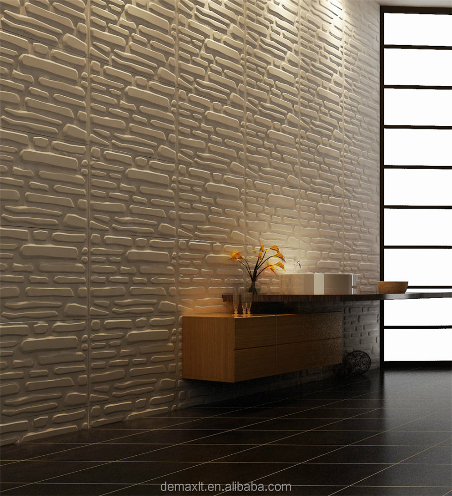 unique design textured mdf wall covering panels