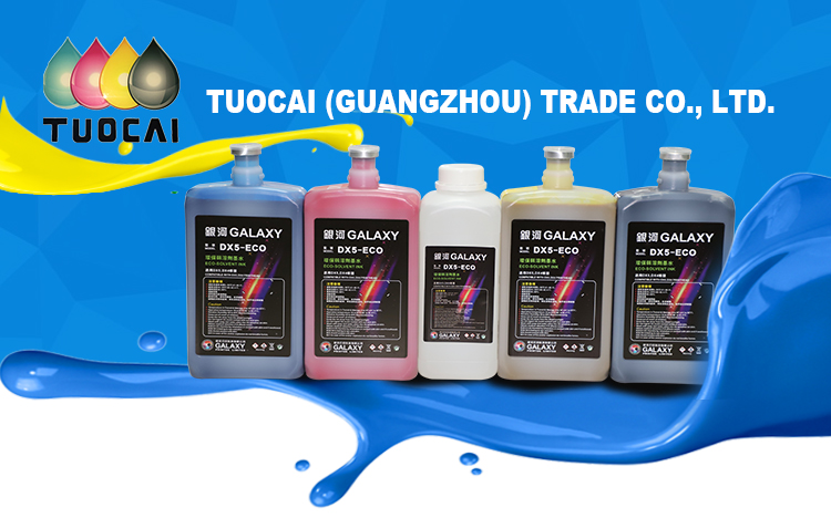 1000ml Popular sell Universal galaxy dx5 eco solvent ink