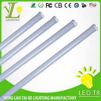 LS fluorescent 18w 1200mm t5 integrated led tube light warm/nature/cool white CCT2700-6500K t5 led light tube for housing