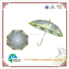 "23""""*8K plastic handle clear umbrella"