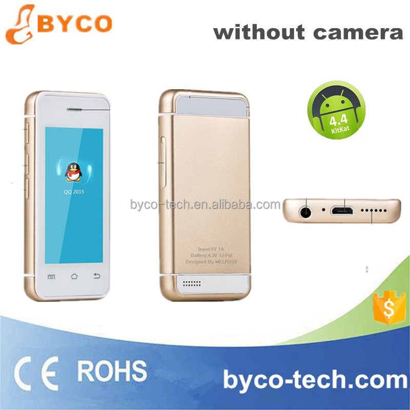 Newest mobile android phones without camera / android very small size mobile phone