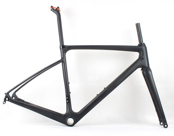 Carbon Road Frame With Mudguards, Adventure Cyclocross Bikes,Gravel Bike Frame CFR 505