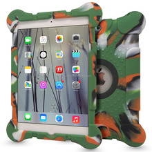 2016 new series Dustproof tablet case for ipad air 2,many colors silicone case cover for iPad 2/3/4