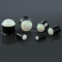 Buy Double Flared Threaded Screw Fit Piercing Eyelet Ear Gauge ...