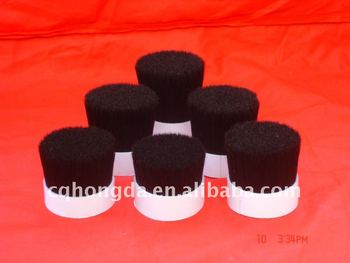 Chungking White/Black/Grey Boiled Bristles 40%tops-90%tops, for high quality paint brush manufacturing