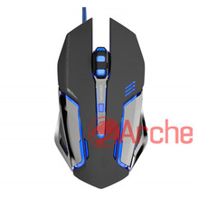 Good quality wired usb 6d optical computer gaming mouse/led colorful light gamer mouse for PC laptop
