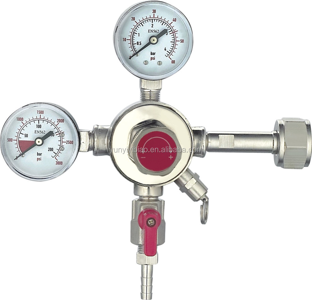 Electrical Heated CO2 Pressure Regulator