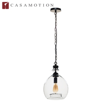 CASAMOTION 2016 Top Sale Wholesale Factory Supply Decorative Hanging Mouth Blown Art Glass Lamp Pendant Light