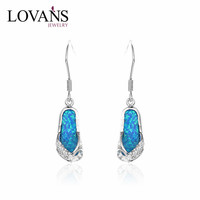 925 Sterling Silver Australian Rough Opal Sale Summer Slipper Hanging Earing Design SEI063W