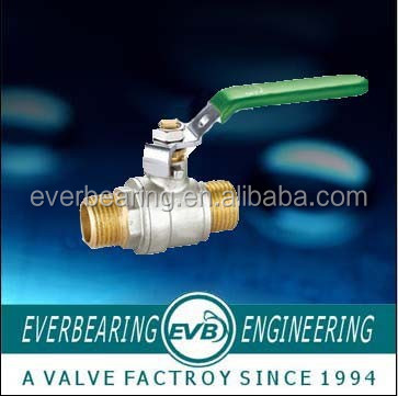 Brass union ball valve, gas meter oil valve