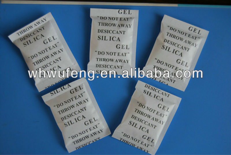 Moisture absorption silica gel desiccating agent pharmaceutical use