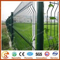 Hot sale PVC coating or galvanized sheet metal fence panel