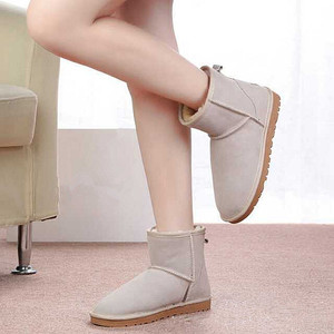 Fashion Lady Shoes Warm Winter Snow Boots for Women