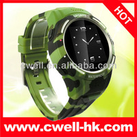 Waterproof IP54 Grade smart watch sync for iphone