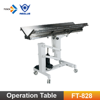 FT-828 Clinic V-top Stainless Steel Surgery Table Veterinary Operation Table Vet Products