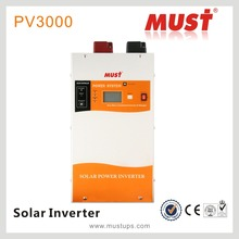 1000W to 3000W Hybrid Solar power inverter 12vdc to 220vac with MPPT