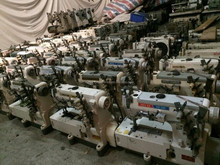 second hand 500 interlock industrial sewing machine